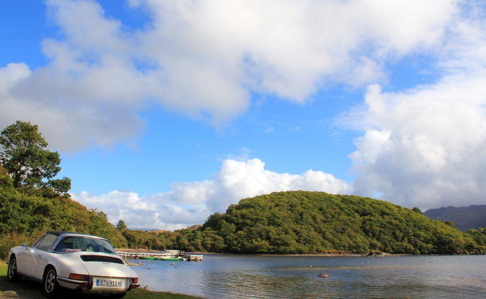 Regen, Sonne, Regen, Sonne. Und Wolken: Hier noch einmal Loch Morar.