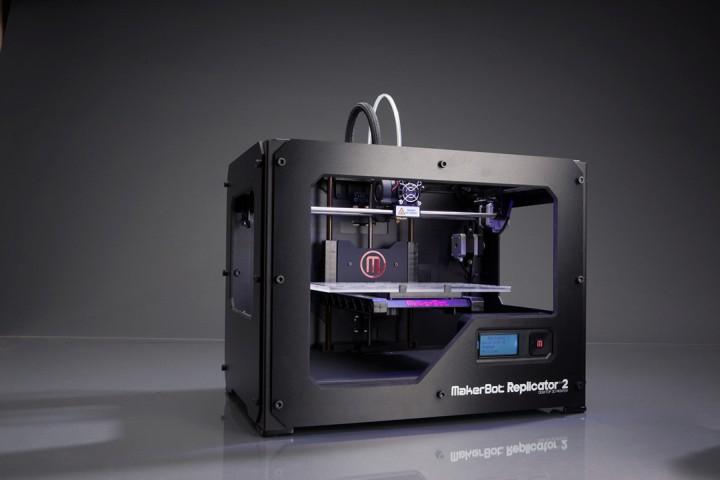 Porsche Teile ausdrucken - Makerbot Replicator 2 - Desktop 3D Printing für unter 2000 Euro