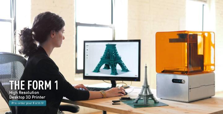 Mal eben den Eifelturm nachbauen. Mit einem 3D-Printer von Formlabs kein Problem (Quelle: formlabs.com)