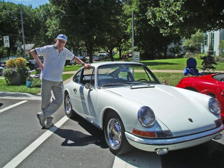 Blind gekauft. Der Wagen im Jahr 2009 mit einem der Vorbesitzer.
