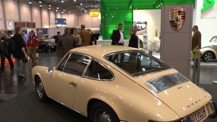 Porsche 911 auf der Techno Classica 2013. Klassische Porsche überall und zu immer überraschenderen Preisen.