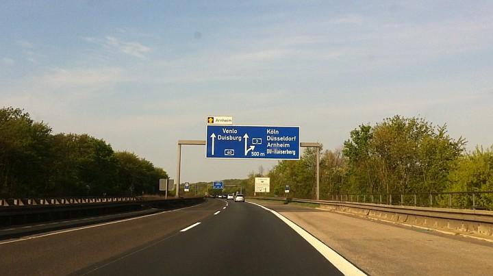 Unterwegs im Porsche 911 S 2.4 Targa Richtung Venlo - Es ist D-Day!