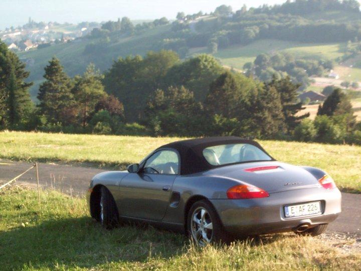 Porsche Nr. 1 - ein Boxster. Nicht die schlechteste Art, Blut zu lecken...