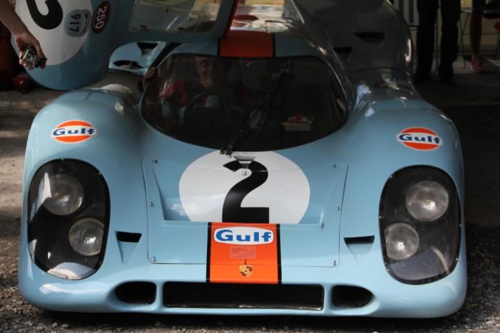 Classic Days. Wir waren ohne Porsche da. Andere hatten ihren mitgebracht.