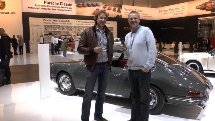 Joost Hermes - the Porsche Hunter - eine der netten Begegnungen auf der Techno Classica 2013