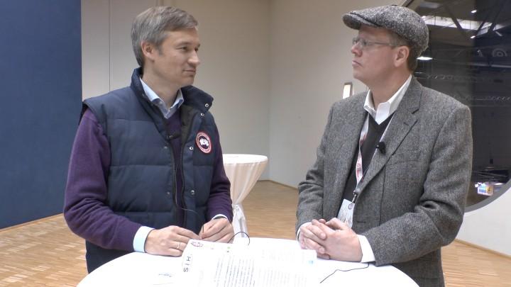 """Dr. Ulf Poschardt (Welt, """"911"""", ps.welt.de) und hansbahnhof (Teil der Maschine) im Interview. Einer von uns ist im nächsten Jahr wieder in Essen dabei..."""