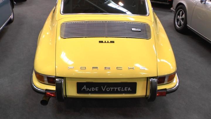 Bald nur noch Kunstobjekt? Porsche 911 2.4 Liter in der starken S-Version auf dem Stand von Andé Votteler.