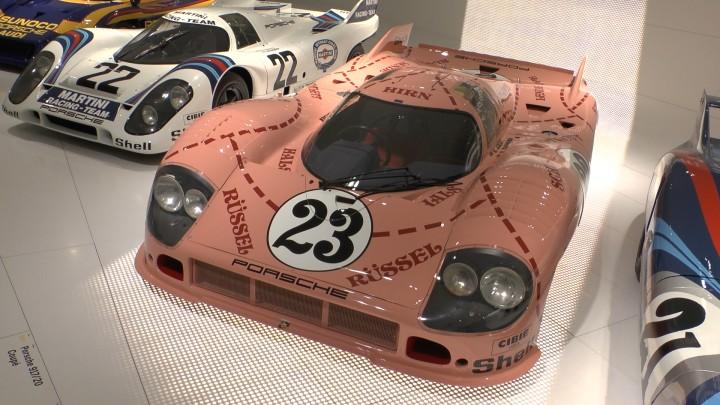 Ja es ist ein Schwein, äh Rüssel, äh Porsche 917 meine ich. (Photo: (c) hansbahnhof, Teil der Maschine 2013)