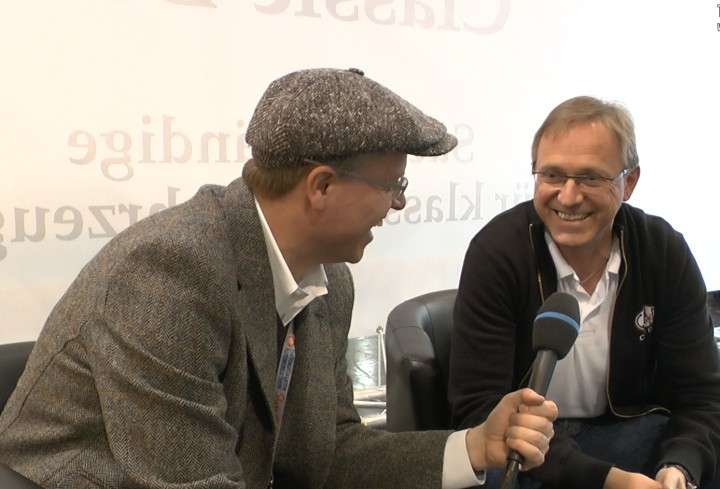 Martin Stromberg Classic Data Hansbahnhof Techno Classica Interview 20141