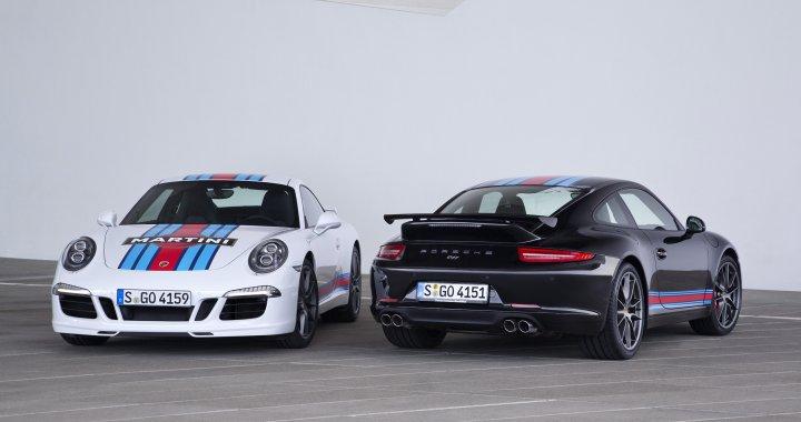 P14 0410 A5 Rgb 1 Porsche 911 Carrera S Martini Racing Edition