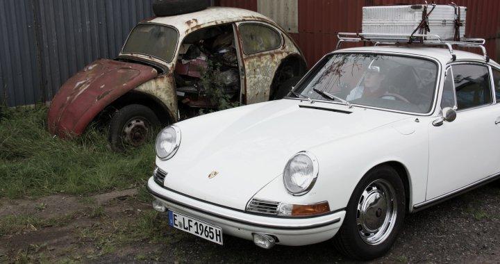 IMG 1658 Porsche 1965 Coupe Und Vw Kaefer Werkstatt