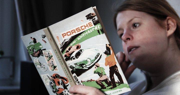IMG 7687 Die Frau Liest Porsche Buch 720x480