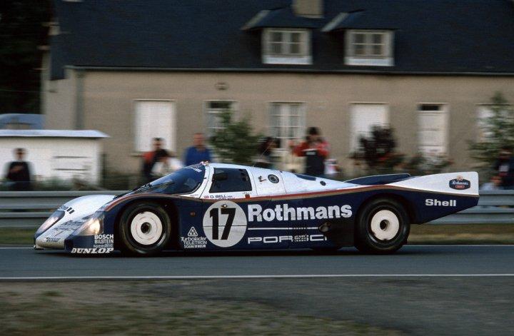 Angemacht: Rothmans Porsche - auch auf der Sound Nacht im Porsche Museum zu hören