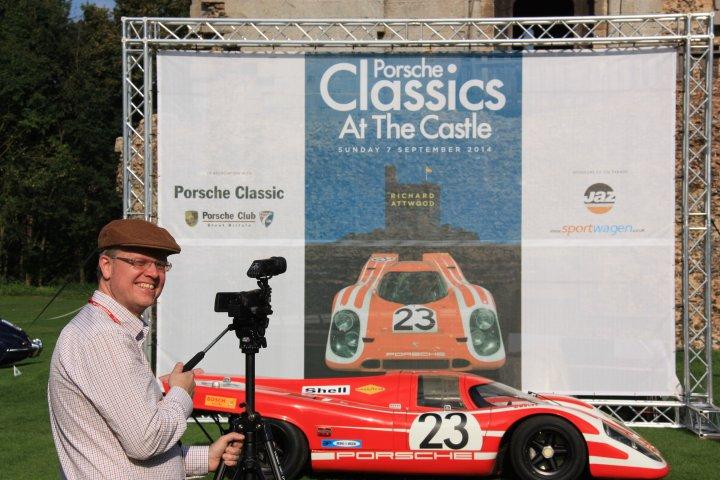 "Wir fahren nach ... England! Ganz spontan zur ""Spontaneous Fish&Chips Rallye 2015"" - Ziel Hedingham Castle - Porsche Classics at the Castle. Erlaubte Fahrzeuge: F-Modelle von 64 - 73!"