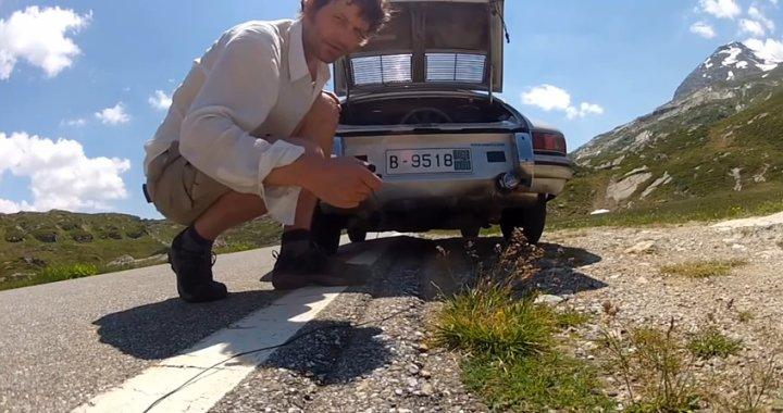 Chris Rusby Porsche Pilgrimage Video