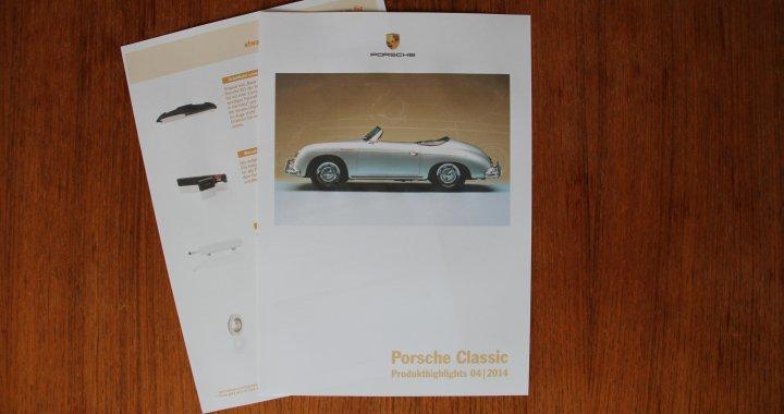 Porsche Classic Produkthighlights 4 2014