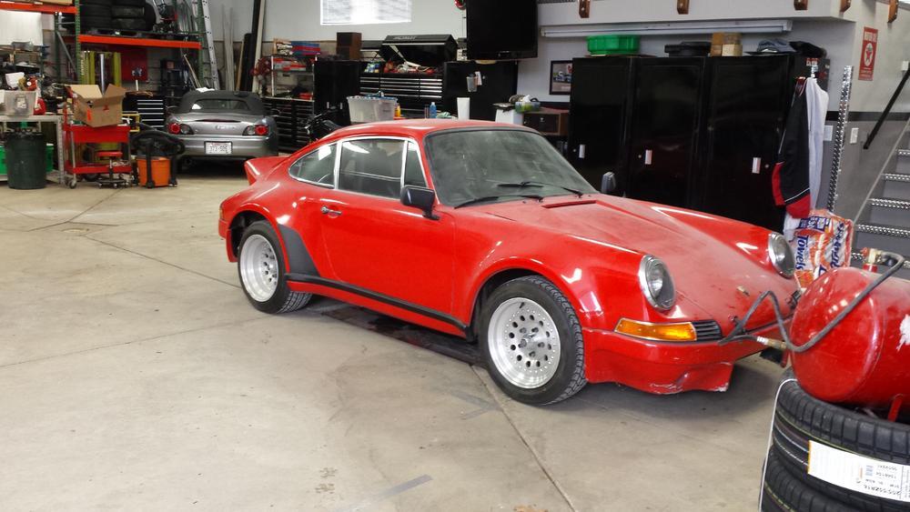 """Ein typisch unscheinbares """"Tuningopfer"""" der wilden Achtziger? Nein - der wahrscheinlich älteste bekannte Porsche 901 / 911 - Foto (c) jsottile / early911sregistry."""
