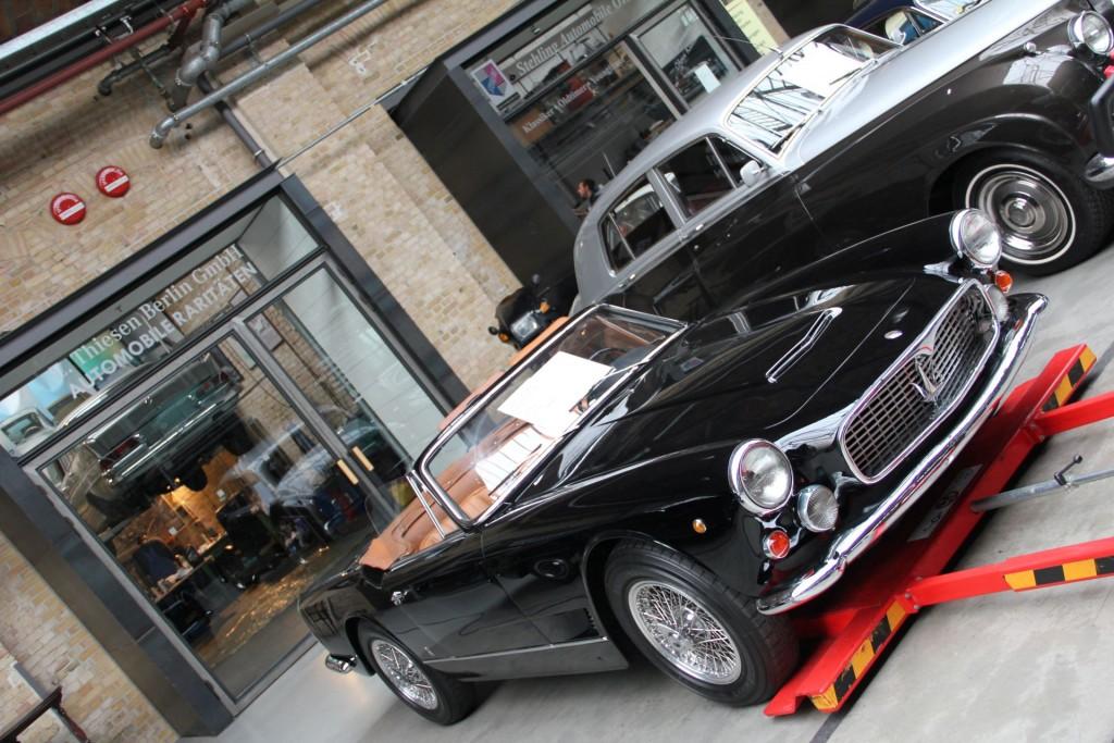 Maserati 3500 Cabriolet. So sah ein Maserati in den Sechzigern aus. Perfetto.