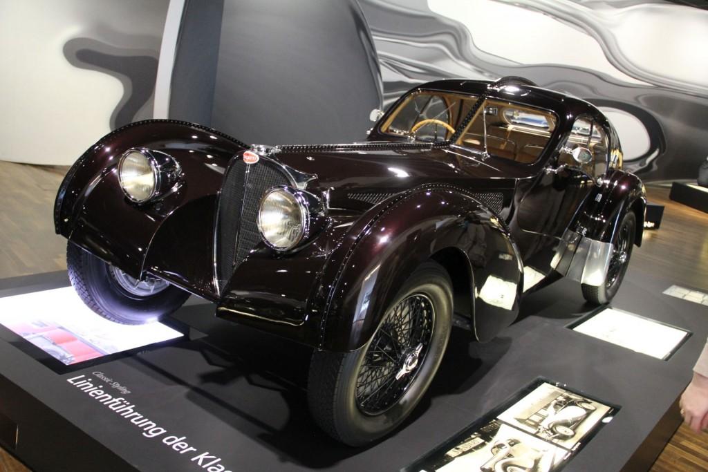 Bugatti 57SC Atlantic - Nie waren Nieten attraktiver und wertvoller.
