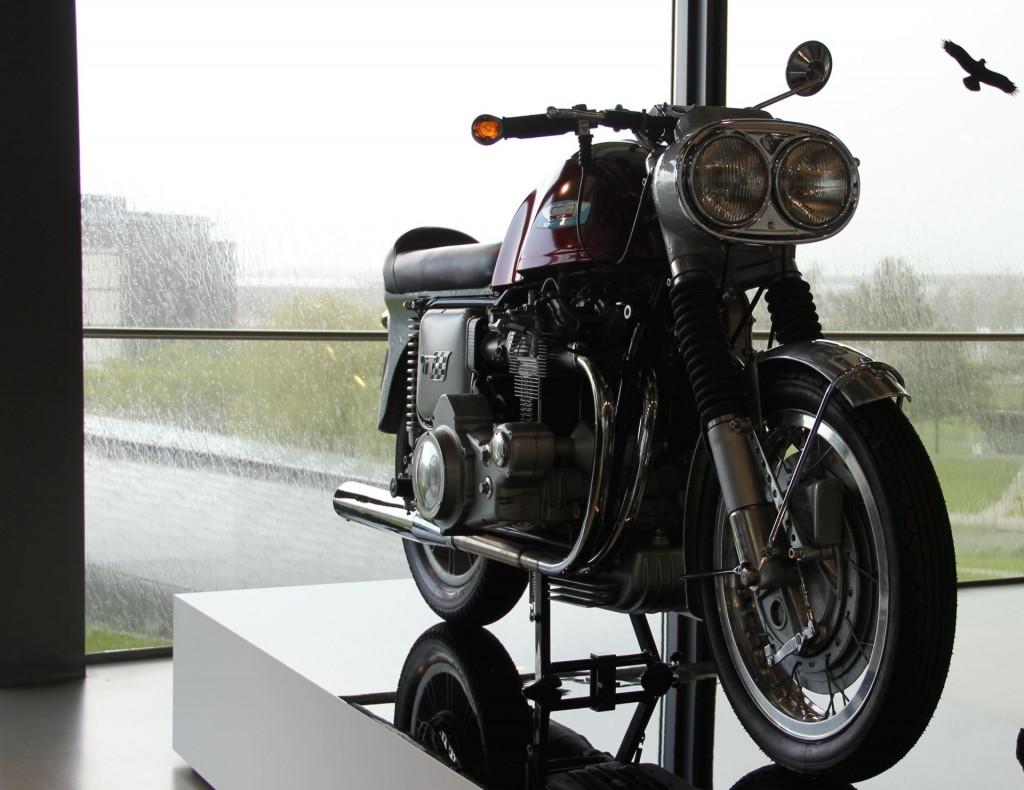 Der gute alte Friedel Münch hat sich bestimmt drüber gefreut. Die Münch Mammut war das erste Super-Bike aus deutscher Produktion. Sie hatte einen Automotor mit 1000 CCM vom NSU Prinz.