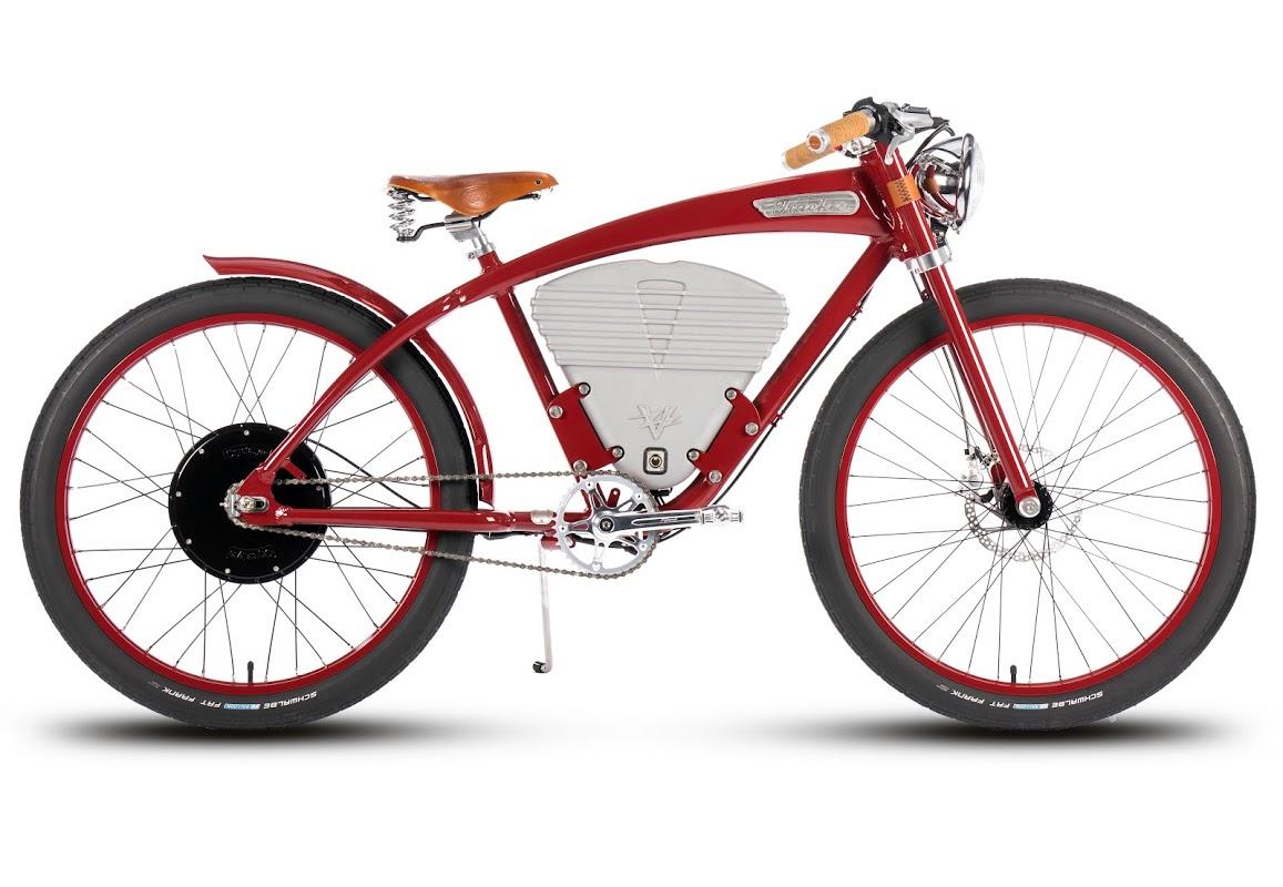 retro e bikes aus drei l ndern mit stil zur porsche. Black Bedroom Furniture Sets. Home Design Ideas