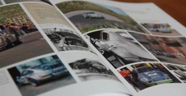 Das Motorsportkapitel mit vielen zeitgenössischen Fotos.