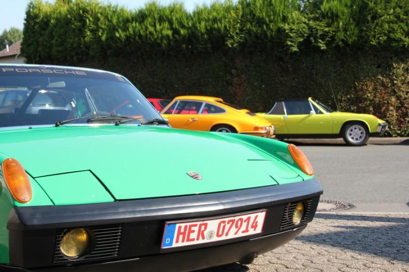 Diese Farben! Porsche 911 und Porsche 914