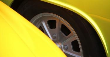 Porsche 911 und Porsche 914 in gelb
