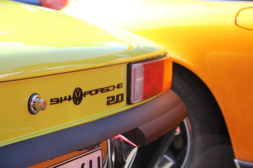 Zwei Liter und Mittelmotor reichen aus! Porsche 914