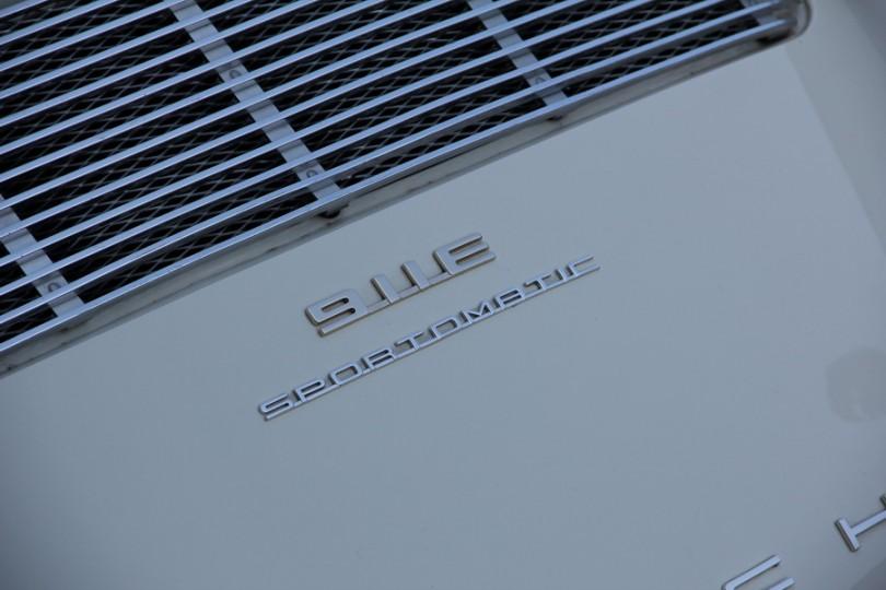 Seltener Sportomativ 911 E - noch ohne Motor.