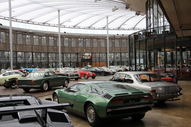 Blick in die große Hall der Classic Remise.