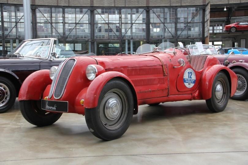 Sportlicher Vorkriegswagen. BMW 303 (nicht wie hier ursprünglich fälschlicherweise angegeben ein BMW 328)