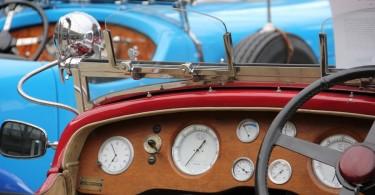 Auch vor dem Krieg gab es sportliche Autos.