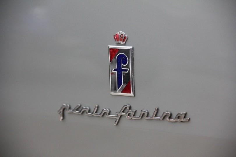 """Die Italiener hatten immer die schönsten Schriftzüge """"Pininfarina""""."""