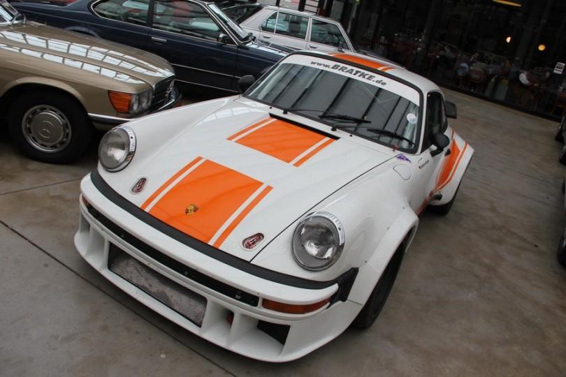 Porsche 911 im Renntrimm bei Bratke