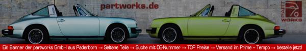 Partworks Online-Shop für Ersatzteile passend für Porsche F-Modell